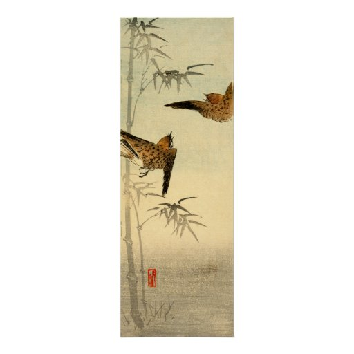Japanese Sparrows no.1 Poster