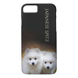 Japanese Spitz Puppies Phone case