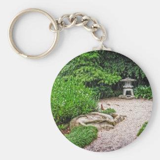 Japanese Stone Lantern Key Chains
