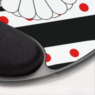 Japanese stripes flag gel mouse pad