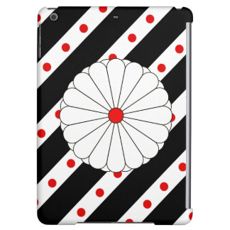 Japanese stripes flag iPad air cover