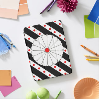 Japanese stripes flag iPad air cover
