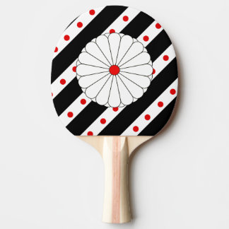 Japanese stripes flag ping pong paddle