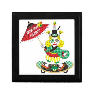 Japanese-style clown colorful (JAPANESE STYLE Small Square Gift Box