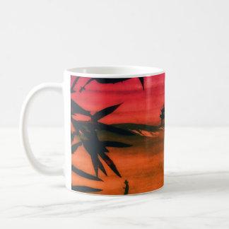 Japanese Sunset Basic White Mug
