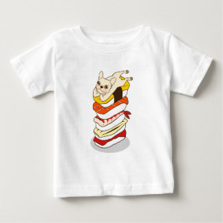 Japanese sushi night for the cute French Bulldog Baby T-Shirt