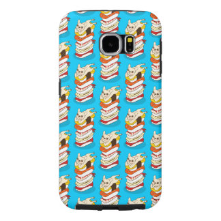 Japanese sushi night for the cute French Bulldog Samsung Galaxy S6 Cases