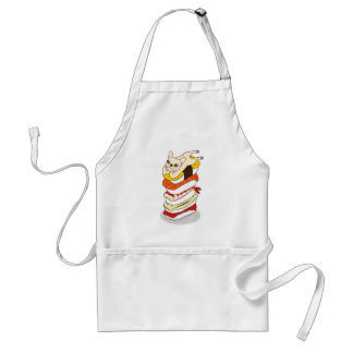 Japanese sushi night for the cute French Bulldog Standard Apron