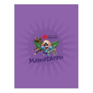 Japanese tales and Myths - Momotarou Postcard