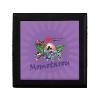 Japanese tales and Myths - Momotarou Small Square Gift Box