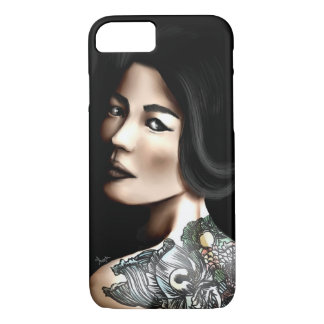 Japanese tattooed woman iPhone 7 case