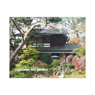 Japanese Tea Garden Stretched Canvas Prints