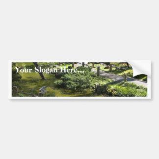 Japanese Tea Garden In Golden Gate Park Bumper Stickers