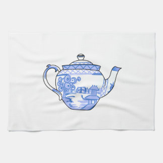 JAPANESE TEAPOT TEA TOWEL