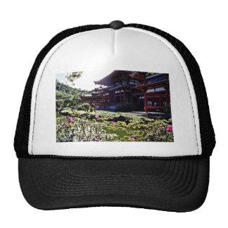 Japanese Temple, Byodo-in - Oahu Mesh Hat