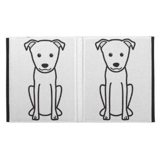 Japanese Terrier Dog Cartoon iPad Folio Cases