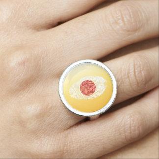 Japanese touch fingerprint flag