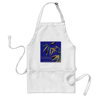 Japanese traditional pattern - Firefly of summer Standard Apron