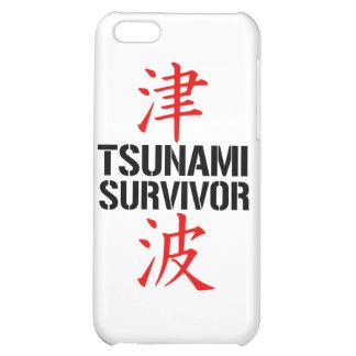 JAPANESE TSUNAMI SURVIVOR iPhone 5C CASE