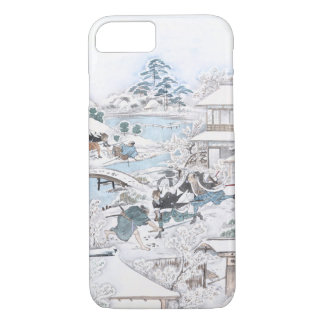 Japanese Ukiyo-e of the 47 Ronin Fighting Samurai iPhone 8/7 Case