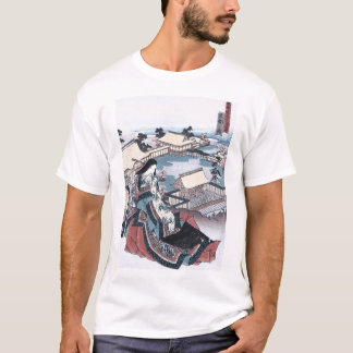 Japanese Ukiyo-e Print with a View of Kyoto T-Shirt