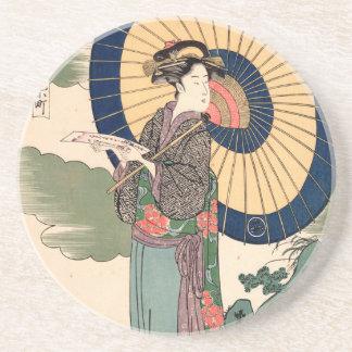 Japanese Ukiyoe Art vol.3 Coaster