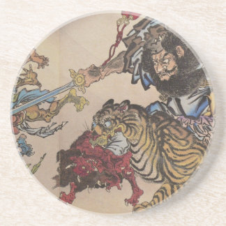 Japanese Ukiyoe Art vol.6 Drink Coasters