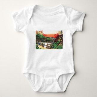 Japanese Village Baby Bodysuit