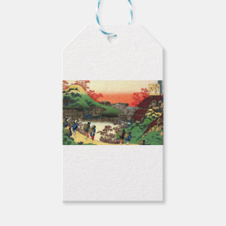 Japanese Village Gift Tags