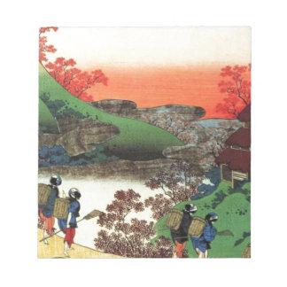 Japanese Village Notepad