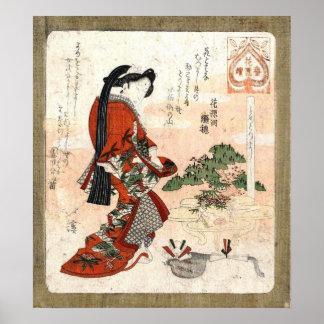 Japanese Vintage Art Poster