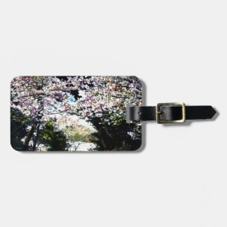 Japanese Vintage Cherry Blossoms Luggage Tags