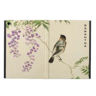 Japanese Vintage Lilac Sparrow iPad Air Case