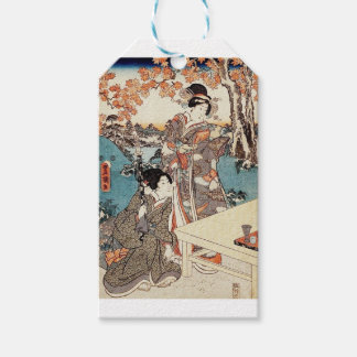 Japanese vintage ukiyo-e geisha old scroll