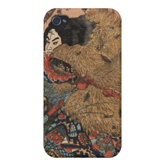 Japanese Warrior Art circa 1800s iPhone 4/4S Cases