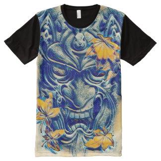 Japanese Water Demon Fantasy Art All-Over Print T-Shirt