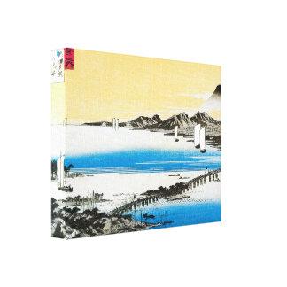 Japanese Water Print Canvas Print