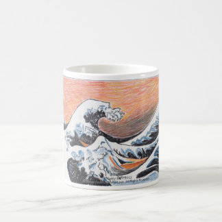 Japanese Wave mug