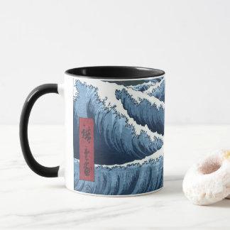 Japanese Waves Mug