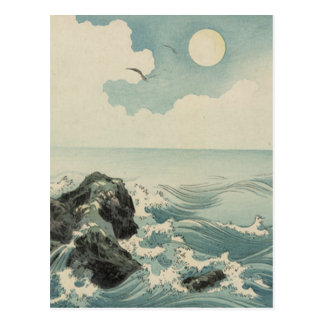 Japanese Waves Post Cards