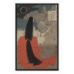 Japanese Woman and the Wizard Poster