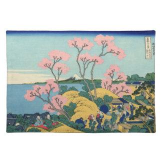 Japanese Woodblock: Fuji from Gotenyama Placemat