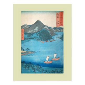 Japanese Woodblock Postcard