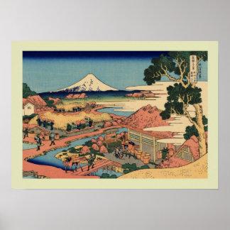 Japanese Woodblock Poster