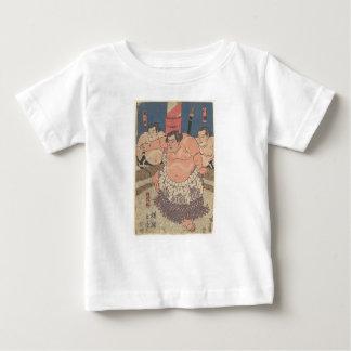 Japanese Woodprint 5 Baby T-Shirt