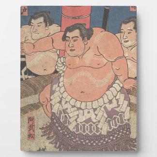 Japanese Woodprint 5 Plaque