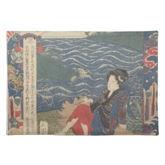 Japanese Woodprint Placemat