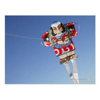 Japanese Yakko kite,  Japan. Postcard