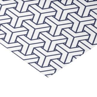 Japanese Yukata Jinbei Bishamon Navy pattern Tissue Paper