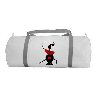 Japanse trommelaar gym duffel bag